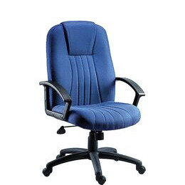 Teknik City Nylon Reclining Executive Chair - Blue Reviews