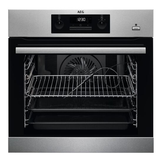 AEG SteamBake BPS352020M Electric Steam Oven Stainless Steel