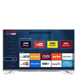Sharp LC-55SFE7452K 55 Inch Full HD 1080p Smart 3D LED TV