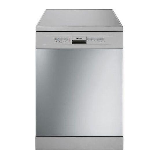 Smeg DFD6132X-2 Full-size Dishwasher - Silver
