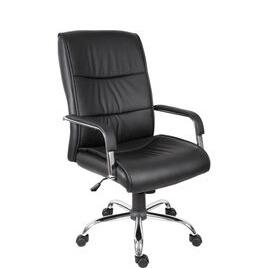 Teknik Kendal 6901BLK Faux-leather Reclining Executive Chair - Black Reviews