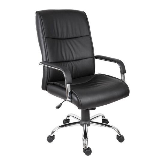 Teknik Kendal 6901BLK Faux-leather Reclining Executive Chair - Black