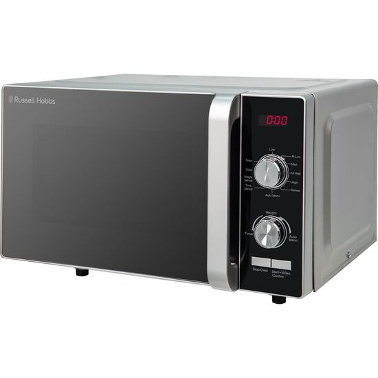 Russell Hobbs RHFM2001S Compact Solo Microwave - Silver