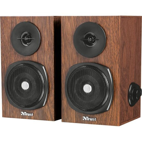 Trust Vigor 2.0 PC Speakers Brown