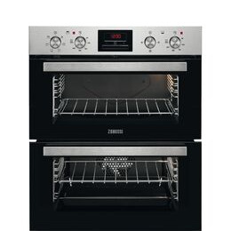 Zanussi ZOF35611XE Electric Double Oven Stainless Steel and Reviews