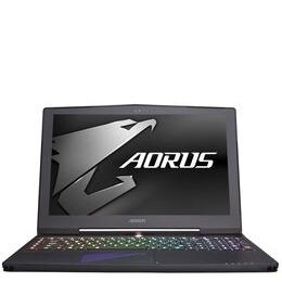 Aorus X5 v7-CF3 Gaming Laptop Intel Core i7-7820HK 2.9GHz 16GB RAM 1TB HDD 256GB SSD 15.6 IPS 2880x1620 WQHD+ No-DVD NVIDIA GTX 1070 8GB WIFI Windows 10 Home
