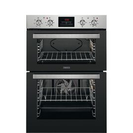Zanussi ZOD35611XE Electric Double Oven Stainless Steel