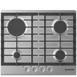 Hoover HGH64SCE X Gas Hob - Stainless Steel Reviews