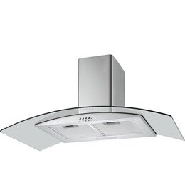 LOGIK L90CHDG17 Chimney Cooker Hood - Stainless Steel & Glass Reviews