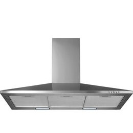 LOGIK L90CHDX17 Chimney Cooker Hood - Stainless Steel Reviews