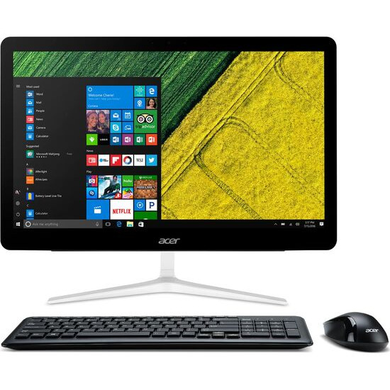 """Acer Aspire Z24-880 23.8"""" Touchscreen All-in-One PC - Silver"""