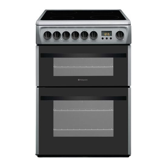 Hotpoint Newstyle DCN60S 60 cm Electric Ceramic Cooker