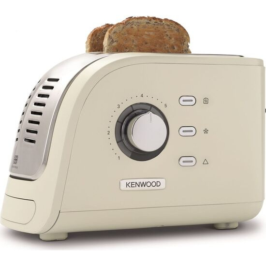 KENWOOD Turbo TMC300CR 2 Slice Toaster - Cream