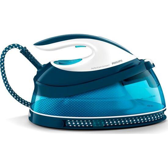 Philips PerfectCare Compact GC7805/20 Steam Generator Iron - Aqua Blue