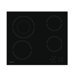 Hotpoint HR612CH 4 Zone Crystal Finish CeramicTouch Control Hob in Black Reviews