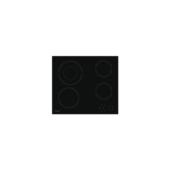 Hotpoint HR612CH 4 Zone Crystal Finish CeramicTouch Control Hob in Black
