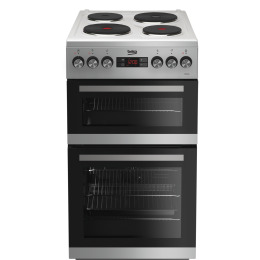 Beko KDV555AS 50 cm Double Oven Electric Cooker Silver Reviews