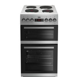 Beko KDV555AS 50 cm Double Oven Electric Cooker Silver Reviews