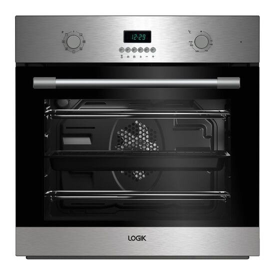 LOGIK LBMFMX17 Electric Single Oven Stainless Steel