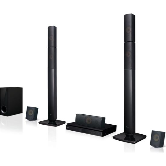 LG LHB645N 5.1 3D Blu-ray & DVD Home Cinema System