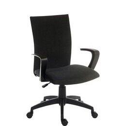 Teknik Work 6931BLK Nylon Operator Chair - Black