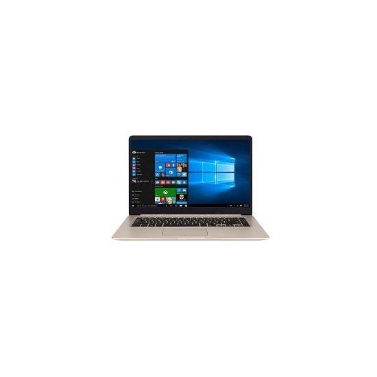 Asus VivoBook S Intel Core i5-7200U 8GB 256GB SSD NVIDIA GeForce GTX 940MX 2GB 15.6 Inch Windows 10 Gaming Laptop Gold