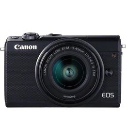 Canon EOS M100 Mirrorless Camera with EF-M 15-45 mm f/3.5-6.3 Lens - Black Reviews