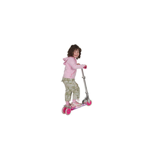 Pink Cosmic Light Scooter