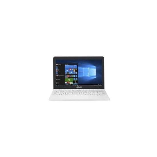 Asus Cloudbook Intel Celeron N3350 2GB 32GB 11.6 Inch Windows 10 Laptop White