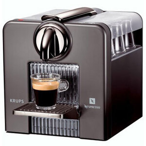 Photo of  Nespresso Krups XN500540 Le Cube Titanium Coffee Maker