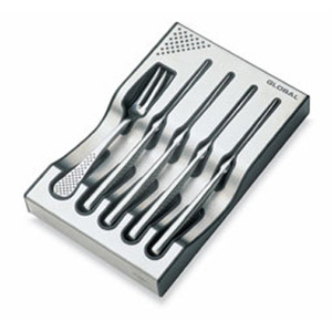 Photo of Global g-88/4012 8 Piece Steak Knife and Fork Set Dinnerware