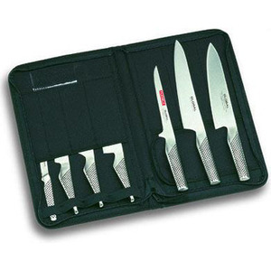 Photo of Global g-666/KB 7 Piece Gift Knife Case Set - KB SET Kitchen Utensil