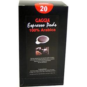 Photo of Gaggia 100% Arabica Coffee Pods Carton Of 20 Home Miscellaneou