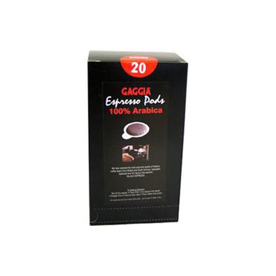 Gaggia 100% Arabica Coffee Pods Carton of 20
