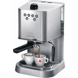 Photo of Gaggia Baby Abs Dose Silver Coffee Machine Coffee Maker