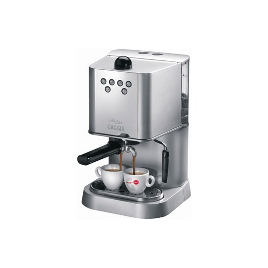 Gaggia Baby Abs Dose Silver Coffee Machine