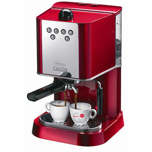 Photo of Gaggia Baby Abs Dose Red Coffee Machine Coffee Maker