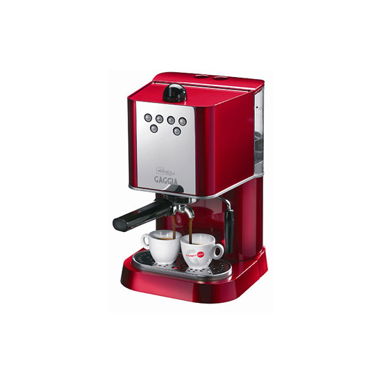 Gaggia Baby Abs Dose Red Coffee Machine