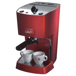Photo of Gaggia Espresso Red Coffee Machine Coffee Maker
