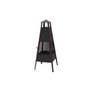 Photo of Contemporary Tall Steel Mesh Fireplace Garden Ornament