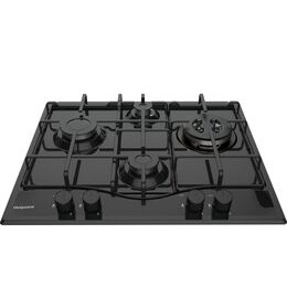 Hotpoint PCN 642 T/H Gas Hob - Black Reviews