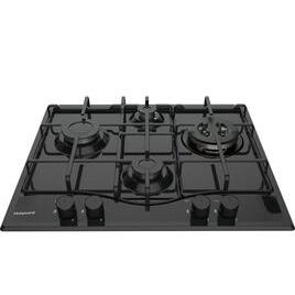 Hotpoint PCN 642 T/H Gas Hob - Black