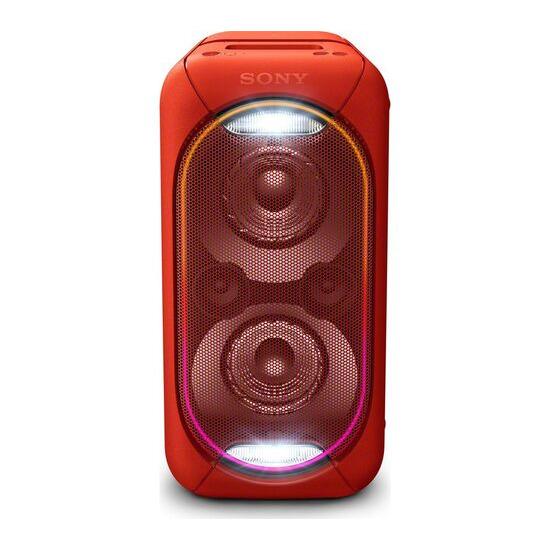 Sony EXTRA BASS GTK-XB60R Wireless Megasound Hi-Fi System Red