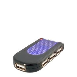 Belkin USB 2.0 Lighted Travel Hub Reviews