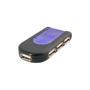 Photo of Belkin USB 2.0 Lighted Travel Hub USB Hub