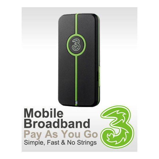 3G Pay as you Go Dongle MF622