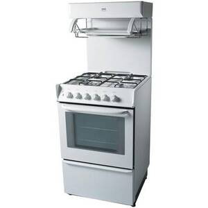 Photo of Zanussi ZCGHL54WN  Cooker