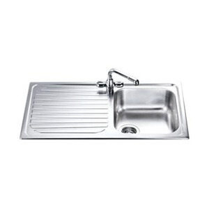 Photo of Single Bowl Single Drainer Kitchen Sink