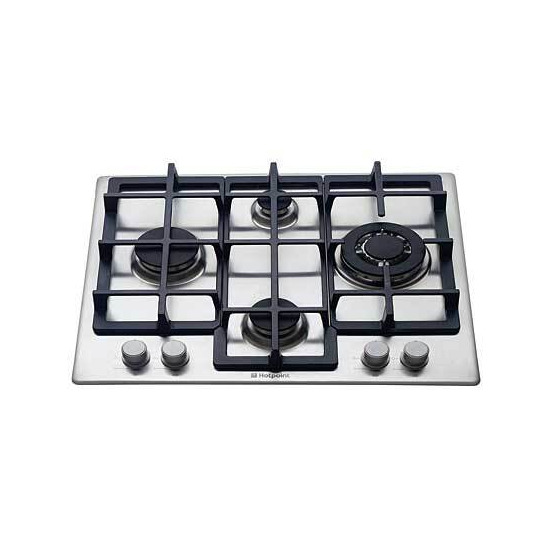 Hotpoint GE641TX Experience 60cm Gas Hob (Stainless Steel)