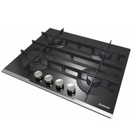 Hoover HGV64STCV B Gas Hob - Black Reviews